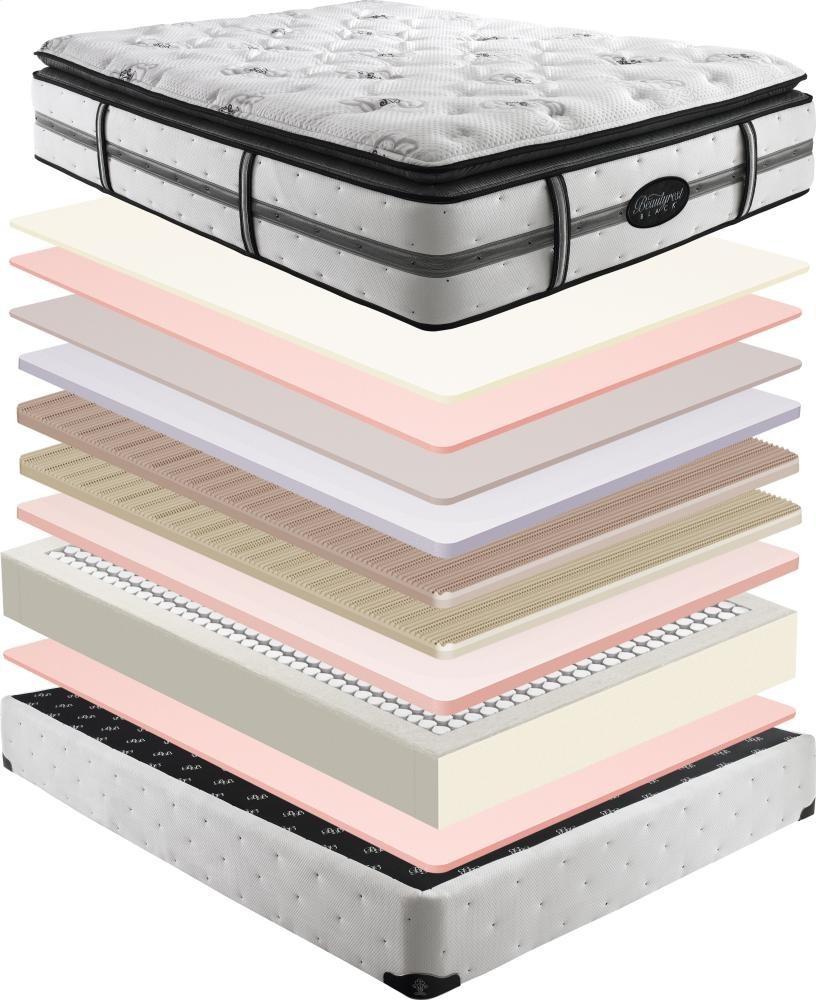 SIMMONS Beautyrest - Black - Natasha - Plush - Pillow Top - Full