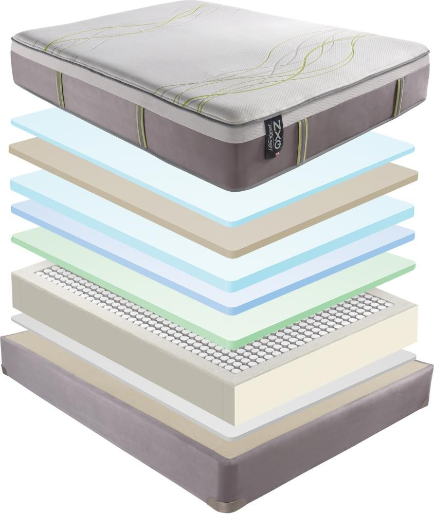 serta luxury ser pillow mattress vegas top full twin las orthopedic venice of set