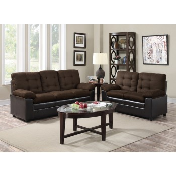 Great Deal Chocolate/Chocolate Living Room