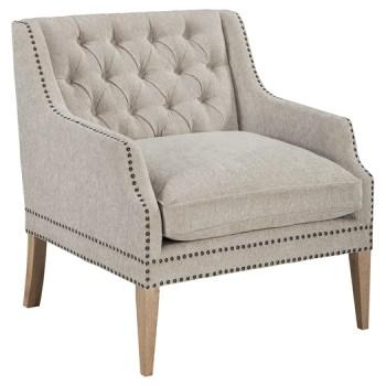 Trivia - Bone - Accent Chair