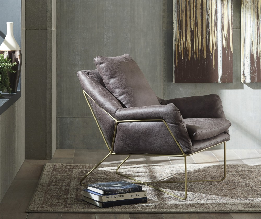 Perfect Gray Accent Chair Style