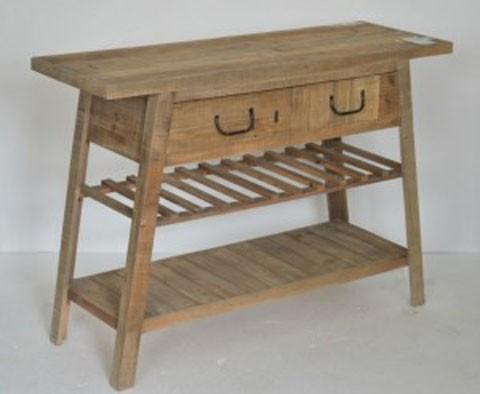 Camp Ridge - Light Brown - Console Sofa Table