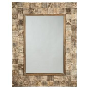 Ivanna - Brown - Accent Mirror
