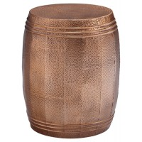 Elazer - Copper Finish - Stool