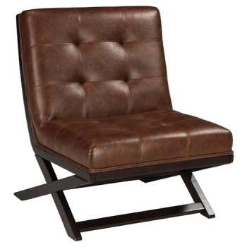 Sidewinder - Brown - Accent Chair