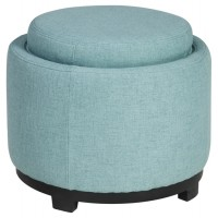 Menga - Mist - Ottoman With Storage