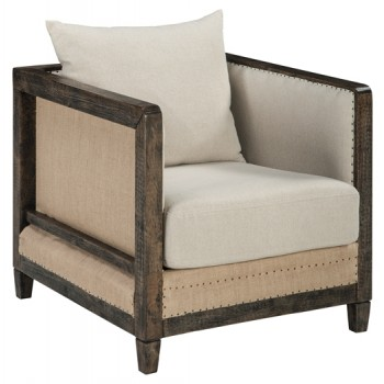 Copeland - Linen - Accent Chair