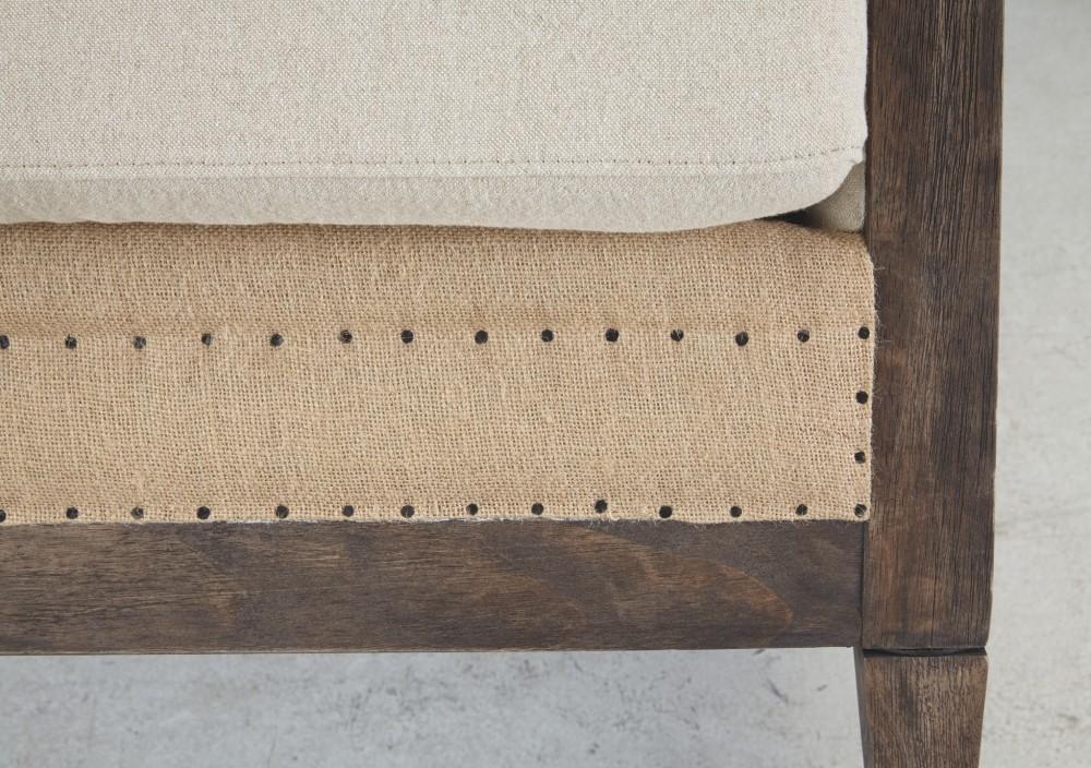 Admirable Copeland Linen Accent Chair Short Links Chair Design For Home Short Linksinfo