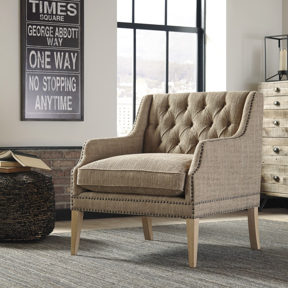 Super Trivia Oatmeal Accent Chair Ocoug Best Dining Table And Chair Ideas Images Ocougorg