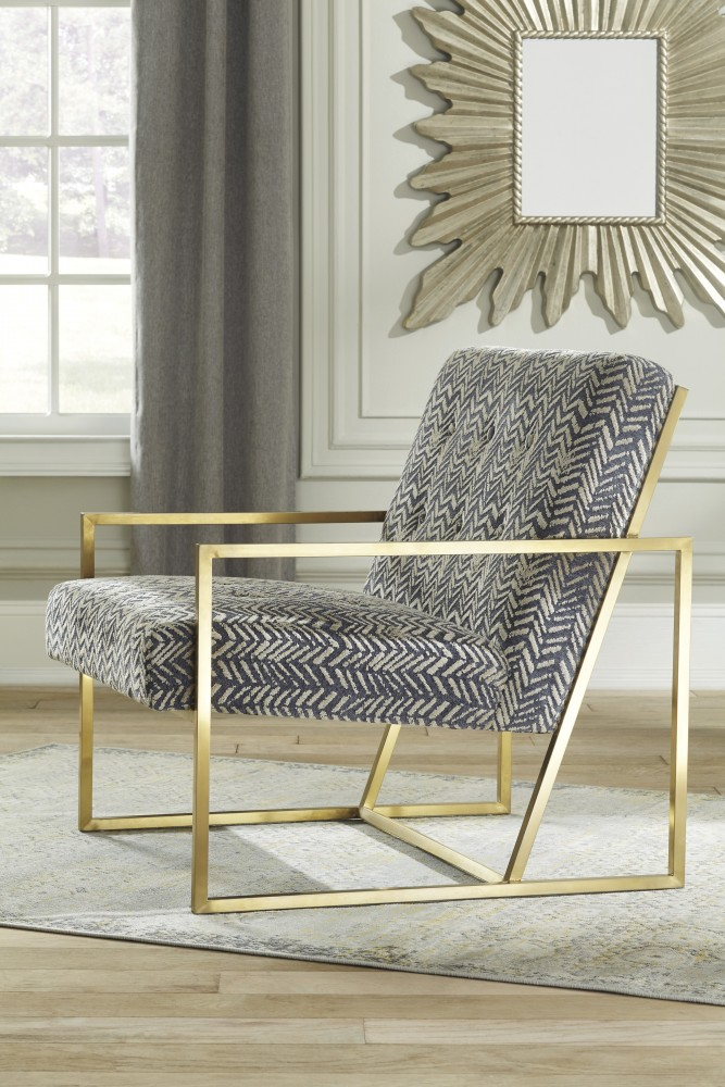 Pleasing Trucker Multi Accent Chair A3000026 Chairs Ocoug Best Dining Table And Chair Ideas Images Ocougorg