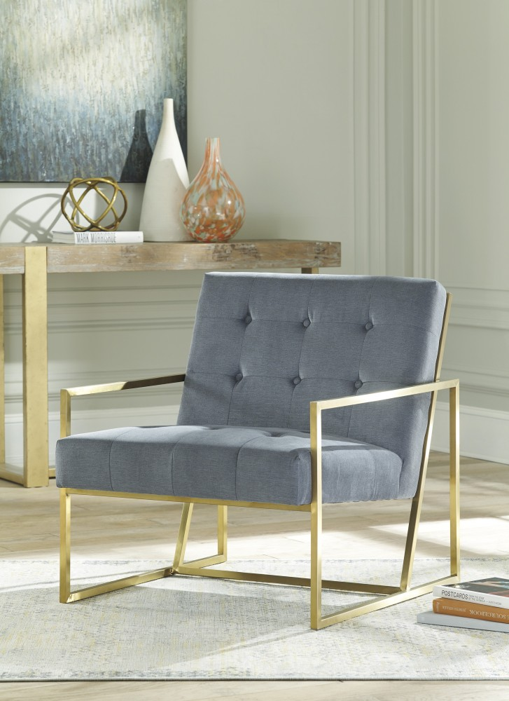 Stupendous Seafront Cobalt Accent Chair A3000027 Chairs Urban Ocoug Best Dining Table And Chair Ideas Images Ocougorg