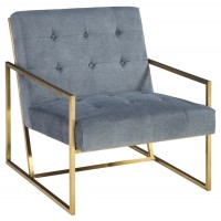 Seafront - Cobalt - Accent Chair