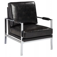 Network - Black - Accent Chair
