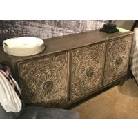 Fair Ridge - Dark Brown - Console