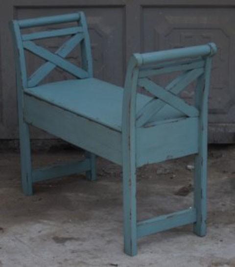 Heron Ridge - Blue - Accent Bench