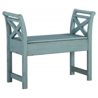 Heron Ridge - Blue - Accent Bench
