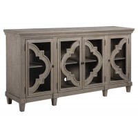 Fossil Ridge - Gray - Door Accent Cabinet
