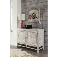 Fossil Ridge - Light Brown - Door Accent Cabinet