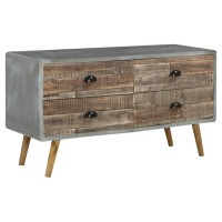 Camp Ridge - Black - Sofa Table