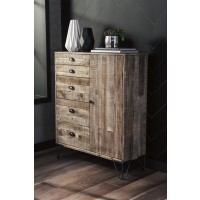 Camp Ridge - Light Brown - Accent Cabinet