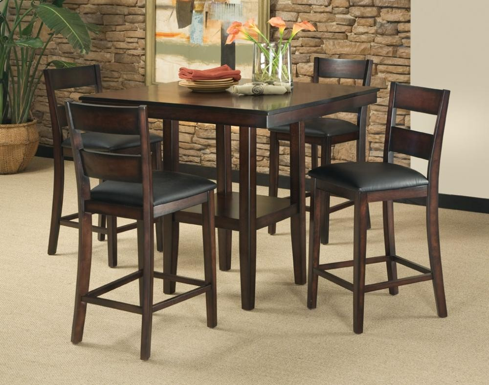 Ct ht table w stools  dining room groups