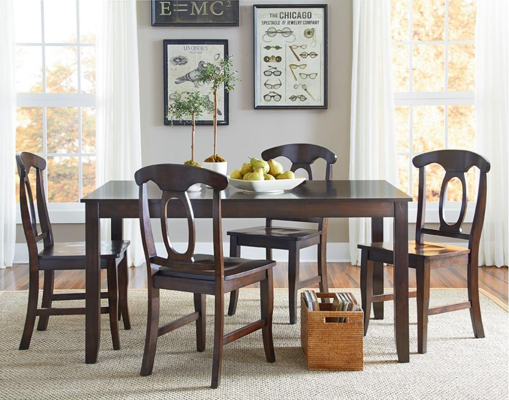 Fine Leg Table W 4 Chairs 15242 Tables Charlottes Interior Design Ideas Gentotryabchikinfo