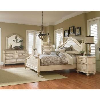 Dresser 82859 dressers furniture world superstore for Antique white king size bedroom sets