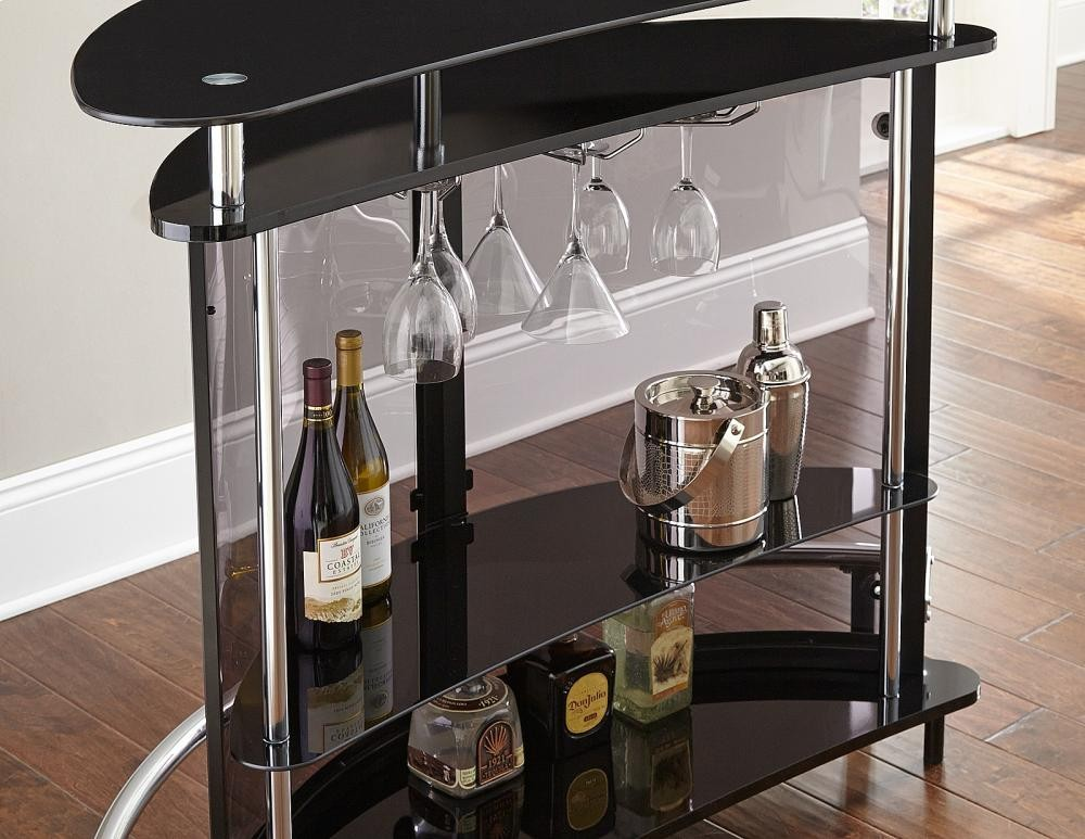 STEVE SILVER CO. Ariana Bar Table/Server,51