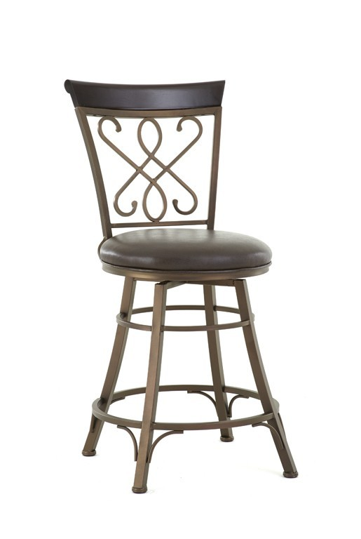 STEVE SILVER CO. Carmona Jumbo Swivel Bar Chair