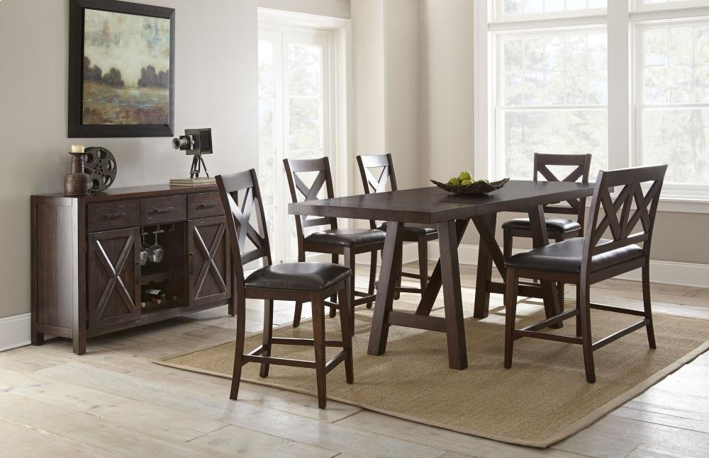 STEVE SILVER CO. Clapton Counter Dining Table
