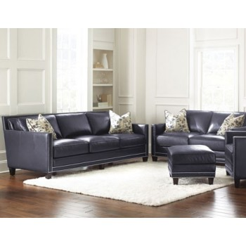 STEVE SILVER CO. Hendrix Sofa w/2 Accent Pillows
