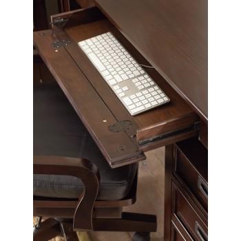 STEVE SILVER CO. Teton Slat Back Swivel Chair