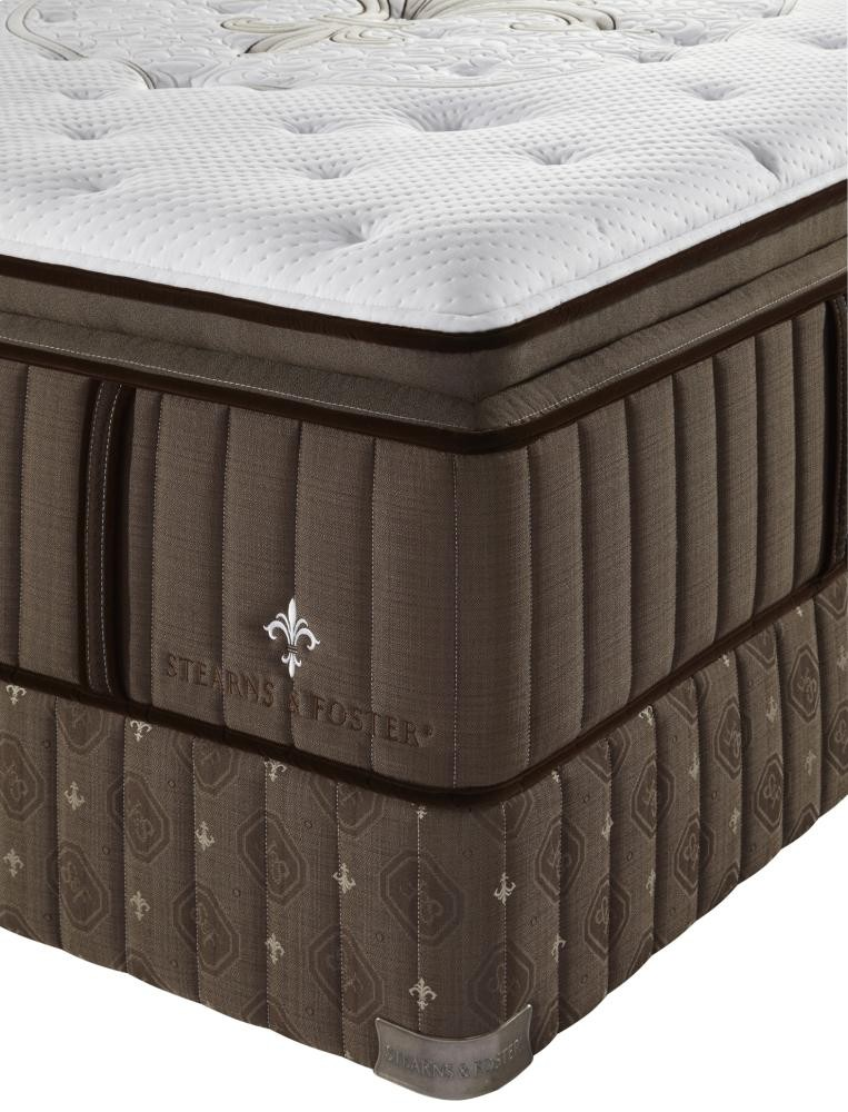 STEARNS & FOSTER Lux Estate Collection - LX6 - Euro Pillow Top - Cal King