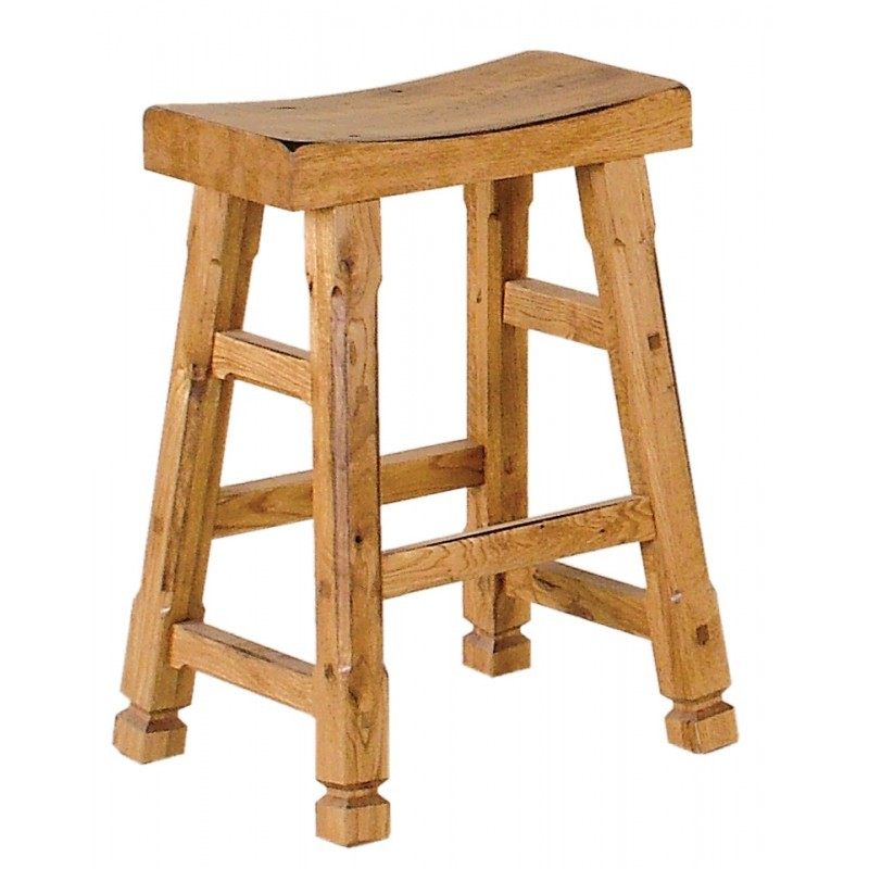 Simple Elegant SUNNY DESIGNS Sedona Saddle Seat Barstool wooden Seat For Your Plan - Model Of wooden chair seats Awesome