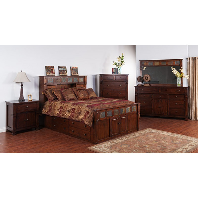 SUNNY DESIGNS Santa Fe Storage Bedroom 48DCS Bedroom Groups Delectable Sunny Designs Bedroom Furniture