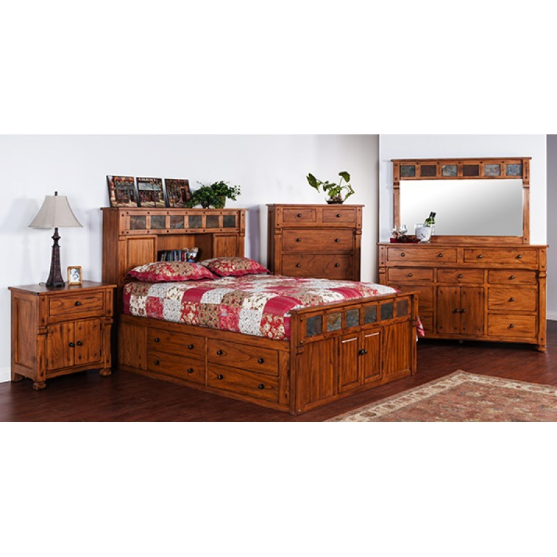 SUNNY DESIGNS Sedona Storage Bedroom 48ROS Bedroom Groups Inspiration Sunny Designs Bedroom Furniture