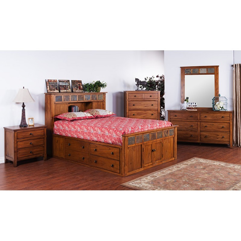 SUNNY DESIGNS Sedona Petite Storage Bedroom 48ROS Bedroom Classy Sunny Designs Bedroom Furniture
