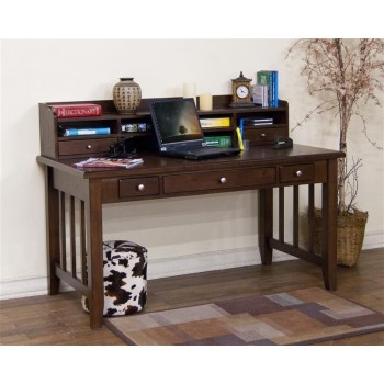 SUNNY DESIGNS Cappuccino Laptop/ Writing Desk