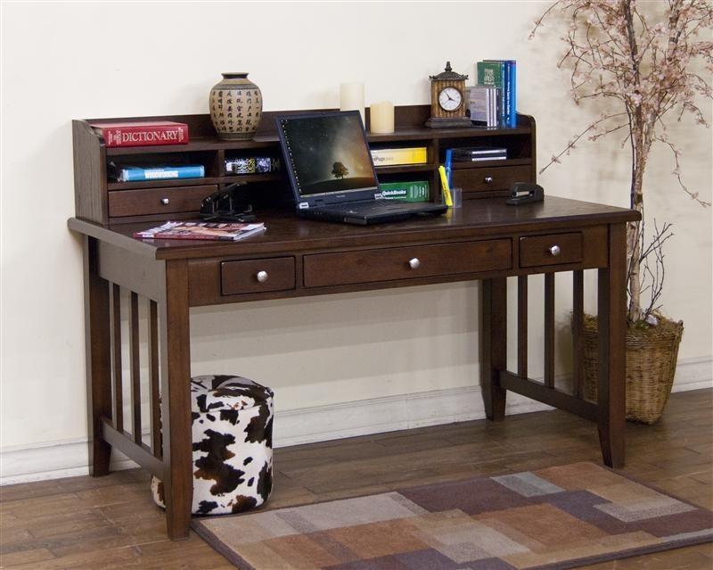 SUNNY DESIGNS Cappuccino Desk Hutch