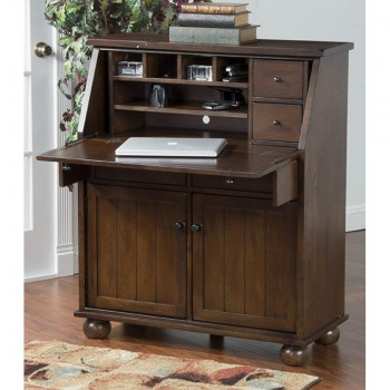 SUNNY DESIGNS Oxford Drop Leaf Lap Top Desk