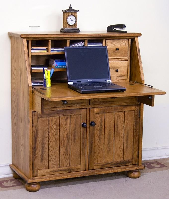 SUNNY DESIGNS Sedona Dropleaf Laptop Desk