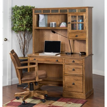 SUNNY DESIGNS Sedona Single Pedestal Desk