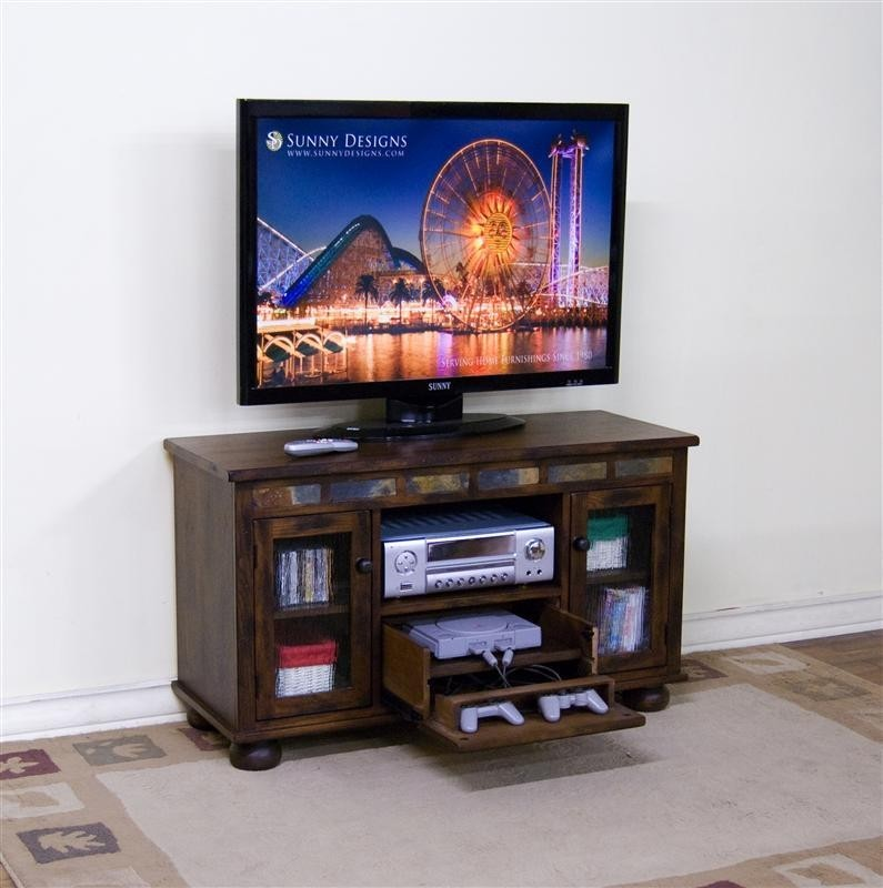 Gave Tv Meubel.Sunny Designs Oxford Tv Console W Game Drawer 3359dog Wall