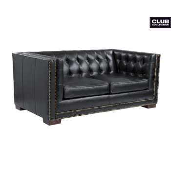 Voltaire Loveseat - Black