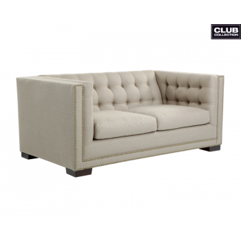 Voltaire Loveseat - Taupe