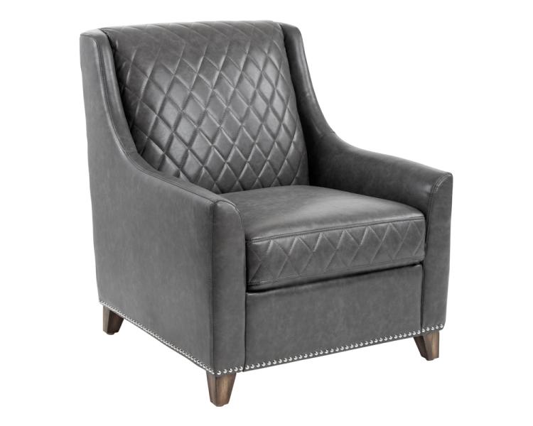 Bergamo Armchair   Grey