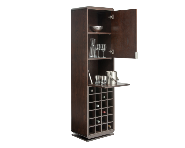 Joshua Bar Shelf - Espresso