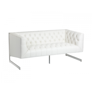 Viper Loveseat - White