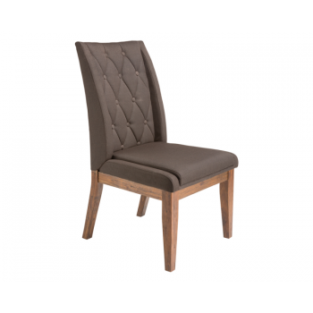 Louise Dining Chair - Charcoal