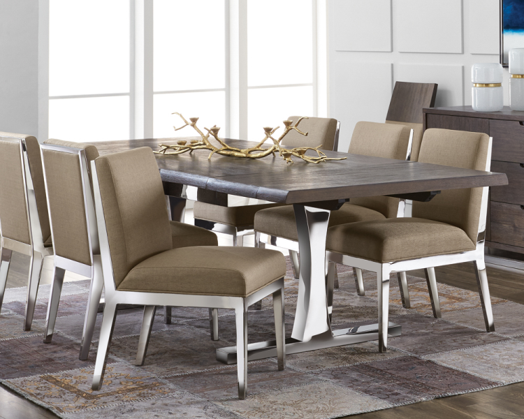 Marquez Extension Dining Table - Brown | Tables | At-Hom